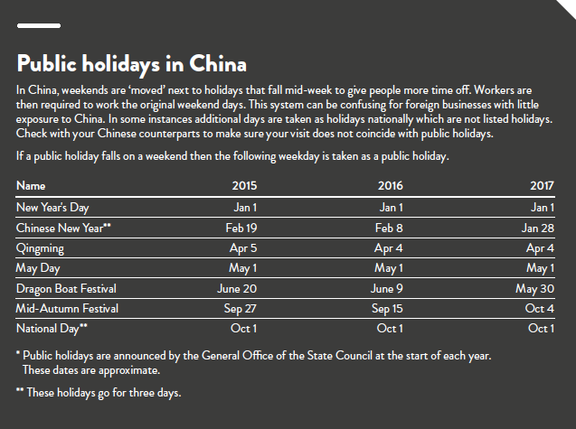 public holidays in china