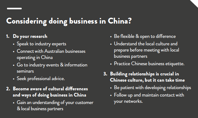 a study of starting a business in china The efficient and effective operation of a business, and study of this subject, is called management the major branches of management are financial management , marketing management, human resource management , strategic management , production management , operations management , service management , and information technology management.